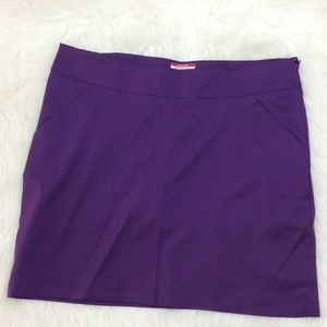 Antigua Desert Dry purple skirt short golf skort